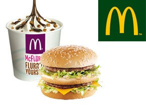1 Big Mac ou 1 McFlurry offert!